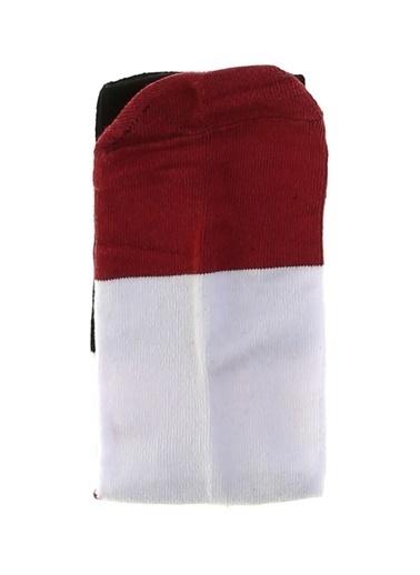 Socks+Stuff Socks&Stuff 20-113201 Kırmızı - Yeşil Kadın Çorap Kırmızı